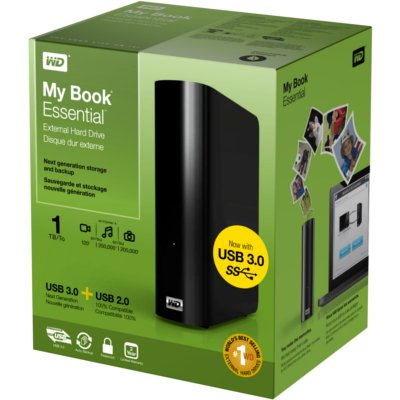 Ổ cứng My Book Essential Edition 1 TB Hard Drives ( WDBACW0010HBK)