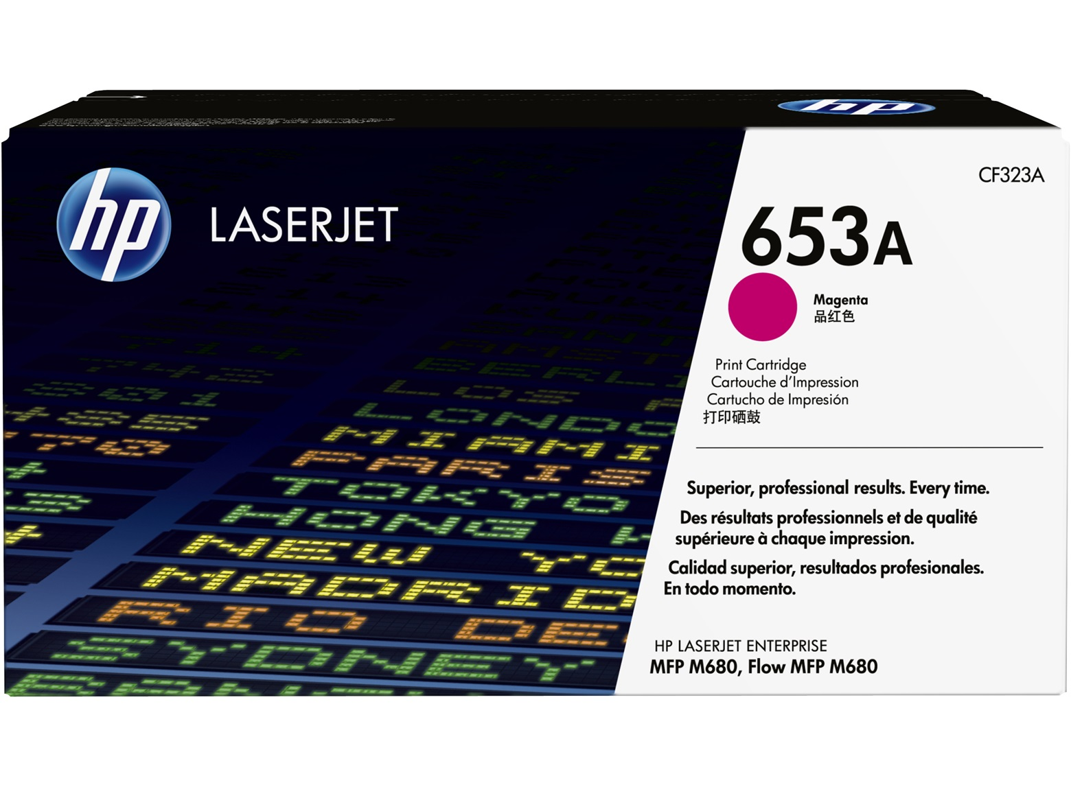 Mực in HP 653A Magenta Original LaserJet Toner Cartridge (CF323A)