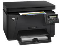 Máy in HP LaserJet Pro MFP M176N, Network, In, Scan, Copy Laser màu (CF547A)