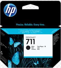 Mực in HP 711 80 ml Black DesignJet (CZ133A)