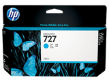 Mực in HP 727, 130-ml Cyan Designjet Ink Cartridge (B3P19A)