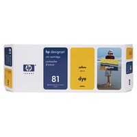 Mực in HP 81 680 ml Yellow Dye Ink Cartridge (C4933A)