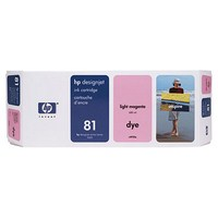 Mực in HP 81 680 ml Light Magenta Dye Ink Cartridge (C4935A)