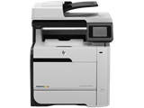 Máy in HP LaserJet Pro 400 MFP M475dn, Duplex, Network, In, Scan, Copy, Fax, Laser màu (CE863A)